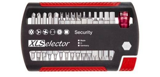Biztonsági bit készlet, 31 részes, Wiha 29416 XLSelector Standard