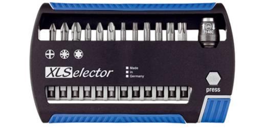 Vegyes bit készlet, 13 részes, Wiha 33663 XLSelector Torsion/Standard