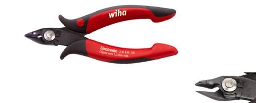 Elektronikai oldalvágó huzaltartó rugóval, lágy drót: 1,3 mm, Wiha 26825