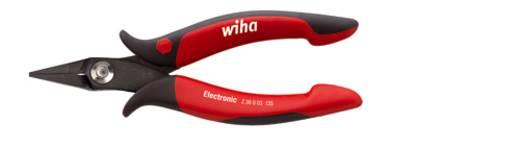 Elektronikai hegyescsőrű fogó, 135 mm, Wiha 26801