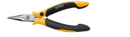 ESD laposfogó félgömbölyű csőrrel, egyenes, 145 mm, Wiha Professional 27905