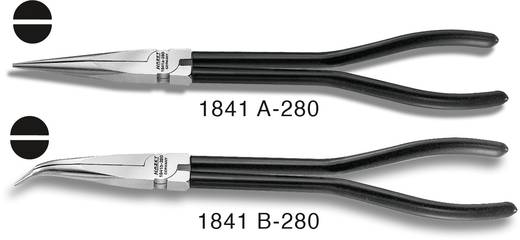 Laposfogó hajlított csőrrel 280 mm, Hazet 1841B-280