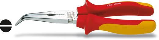 VDE laposfogó félgömbölyű csőrrel, hajlított, 200 mm, Hazet 1841BVDE-33