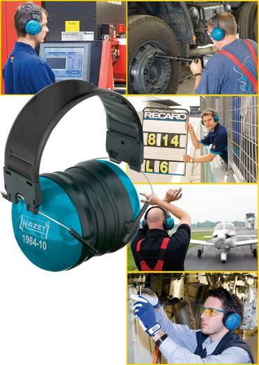 Fejpántos, kapszulás hallásvédő fültok, zajcsillapító fülvédő 26dB Hazet Profi 1984-10