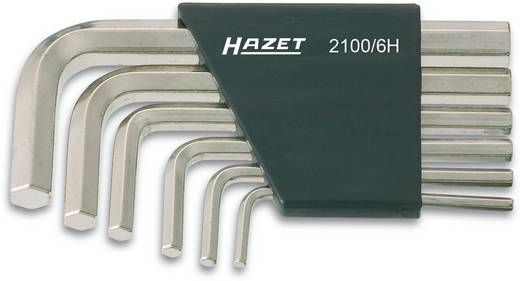 Imbuszkulcs készlet, 6 részes, Hazet 2100/6H