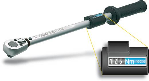 Nyomatékkulcs 660 mm 60-320 Nm, Hazet 5123-2CLT