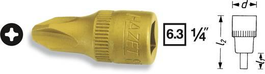 Kereszthornyú csavarhúzófej PH 4, 6,3 mm (1/4), Hazet 8506-PH4