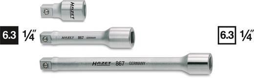 Dugókulcs hajtószár hosszabbító, 6,3 mm (1/4), Hazet 867-1