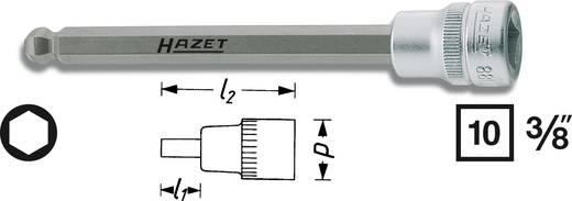 """Belső hatlapú csavarhúzó betét 10 mm (3/8"""")Kulcstávolság 10 mm Meghajtás (szerszám) 10 mm (3/8"""")Hazet 8801KK-10"""