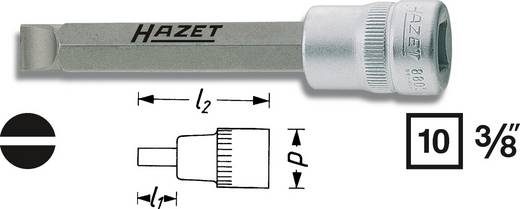 """Egyenes pengéjű csavarhúzó betét 1,2x8mm kulcsnyílás: 10 mm (3/8"""")Meghajtás (szerszám) 10 mm (3/8"""")Hazet 8803"""