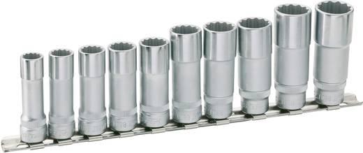 """Kettős 6 lapfejű dugókulcs készlet 10 mm (3/8"""") 10 részes Hazet 880TZ/10H"""