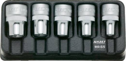 """Torx dugókulcs készlet, 12,5 mm (1/2"""") 5 részes Hazet 900-E/5"""
