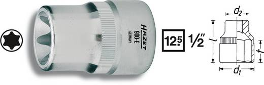 """Torx dugókulcs betét 12,5 mm (1/2"""") szerszám meghajtás 12,5 mm (1/2"""") Hazet 900-E12"""