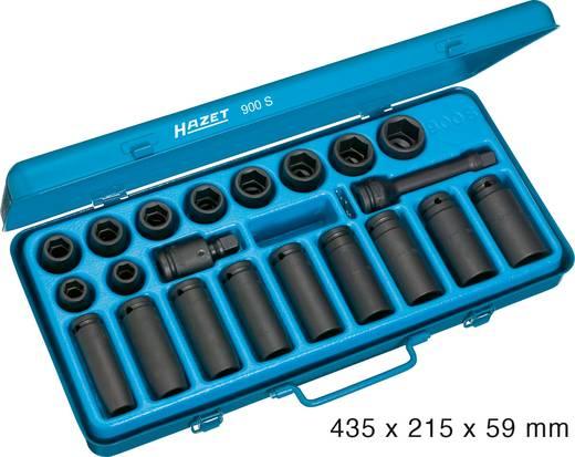 """Hatlapfejű dugókulcsbetét készlet 12,5mm (1/2"""") szerszám meghajtás 12,5mm (1/2"""") Hazet 900S"""