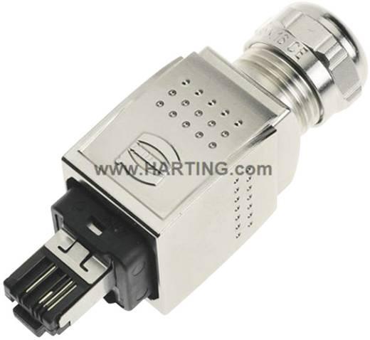 Han® PushPull RJ45-Csatlakozó dugó, egyenes pólusszám: 4 09 35 221 0401 Harting tartalom: 1 db