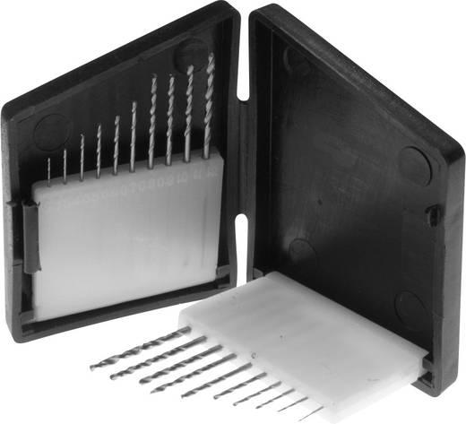 HSS Spirálfúró készlet 0,3-1,2 mm 20részes DIN 338