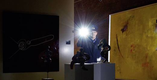 LED-es kézilámpa, elemes működés, 175 g, fekete, 9607, Led Lenser P7.2