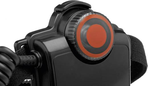 LED-es akkus fejlámpa 165g fekete, LED Lenser H7R.2
