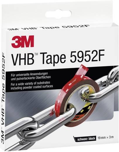Nagyteljesítményű ragasztó rendszer (H x Sz) 3 m x 19 mm fekete VHB™ 5952F 3M, tartalom: 1 tekercs
