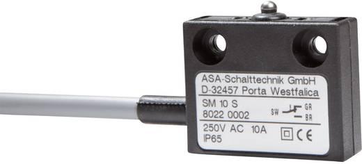 Mikrokapcsoló 250 V/AC 10 A 1 x BE/(BE) ASA Schalttechnik SM 10 S IP65 nyomó 1 db