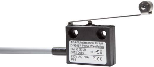 Mikrokapcsoló 250 V/AC 10 A 1 x BE/(BE) ASA Schalttechnik SM 10 G70R IP65 nyomó 1 db