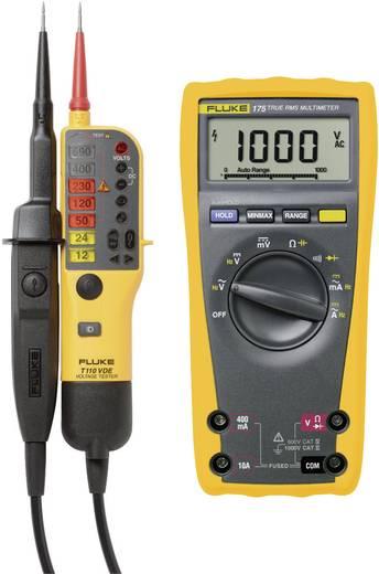 Digitális True RMS multiméter Fluke 175 és kétpólusú LED-es feszültségvizsgáló Fluke T110 készletben