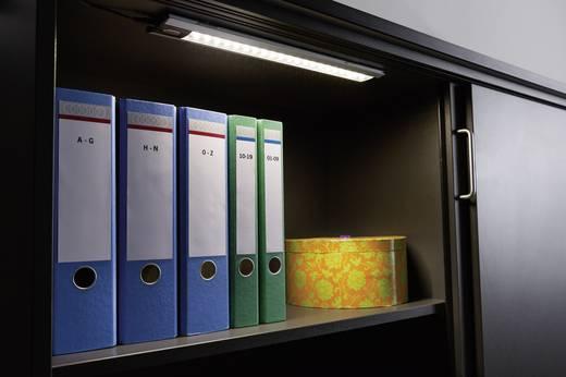Szekrénymegvilágító lámpa, érintős, 4,2W LED-es, matt fekete alumínium, 230/12V, Function TriX