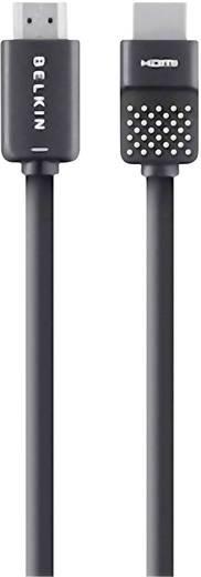 HDMI csatlakozókábel [1x HDMI dugó - 1x HDMI dugó] 3 m fekete Belkin AV10150bf3M