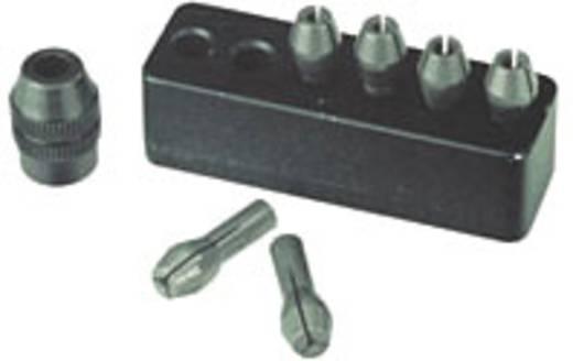 Proxxon Micromot 28940 acél fúrótokmányok, tartalék befogó patronok tokmányos Proxxon kézigépekhez
