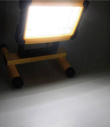 LED-es akkus munkalámpa 12V/230V/12W Wentronic 97231