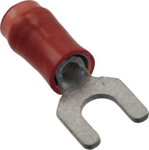 Villás kábelsaru 0.25 mm² 1.5 mm² M4 Részlegesen szigetelt Piros TE Connectivity 32498 1 db