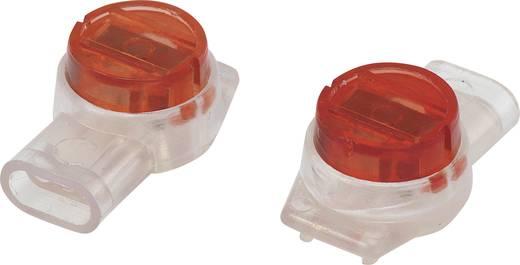 Egyeres csatlakozó, 0.13-0.65 mm² pólusszám: 3 Conrad 93014c943 50 db Piros