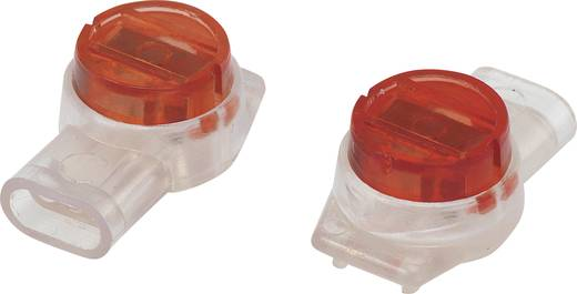 Egyeres csatlakozó, 0.13-0.65 mm² pólusszám: 3 Tru Components 93014c943 50 db Piros