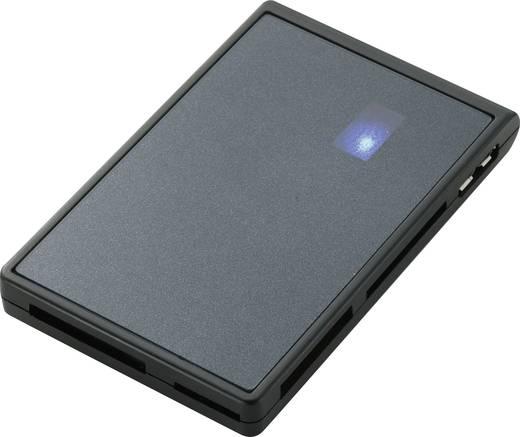 Külső memóriakártya olvasó, USB 3.0 Renkforce Fekete