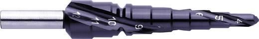 HSS fokozatfúró, 4-12mm TIAIN spirálhoronnyal Exact