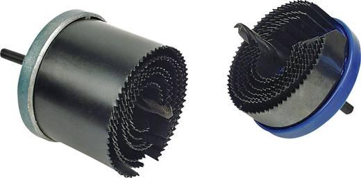 Állítható lyukfűrész, körkivágó készlet 8 részes 26-63mm-ig Mannesmann 440-2