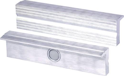 Mágneses rögzítésű, 100 mm széles alumínium védőpofa satuhoz