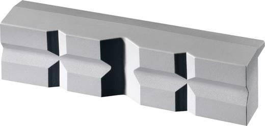 Mágneses rögzítésű, 140 mm széles polyuretan anyagú védőpofa satuhoz