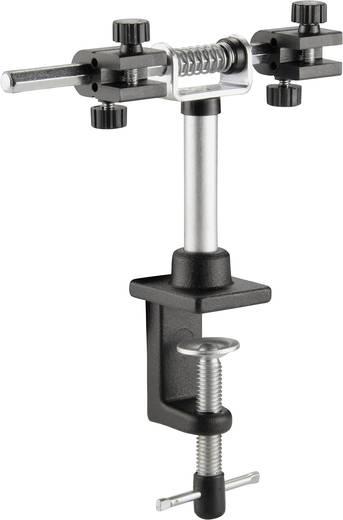 Paneltartó állvány, NYÁK tartó, asztallaphoz rögzíthető, dönthető, forgatható 810592