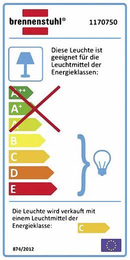 Állványos munkalámpa, halogén kültéri reflektor állvánnyal, R7s, 500 W, 230 V, IP44, fekete, Brennenstuhl 1170750