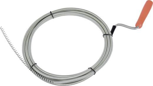 Csőgörény, cső és lefolyótisztító spirálkábel 6 mm x 3 m 49903