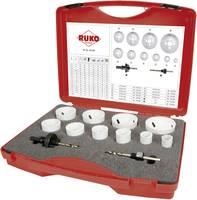 Koronafúró készlet, lyukfűrész készlet 12 részes HSS-Co8 bimetál RUKO 126303 (126303) RUKO