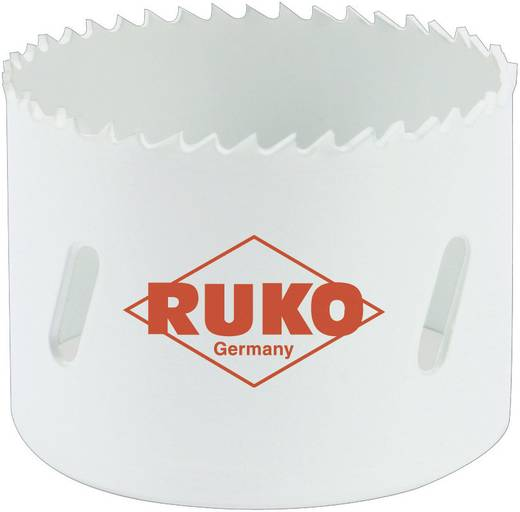 Koronafúró készlet, lyukfűrész készlet 12 részes HSS-Co8 bimetál RUKO 126303