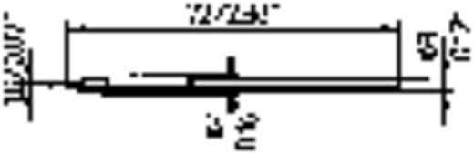 Ersa 212 pákahegy, forrasztóhegy 212 ED LF véső forma 1.8 mm