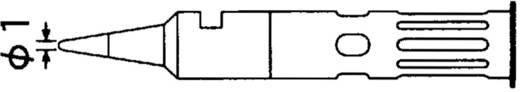 Weller WP60 pákahegy, forrasztóhegy 1 mm-es gömbölyű fejű T0051644399