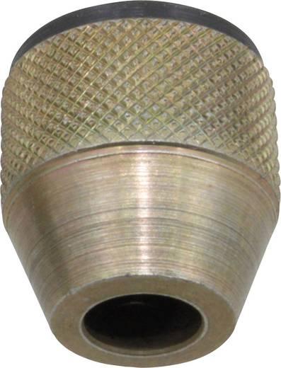 Dremel fúrótokmány, gyorsszorítós fúrótokmány Dremel kézigépekhez, univerzális kisgépekhez 0,4-3,5 mm befogótartománnyal