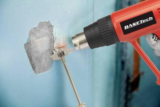 Hőlégfúvó pisztoly készlet, 2000 W, 1/2 fokozat: 300/600 °C, 1/2 fokozat: 500/650 l/min