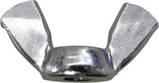 Toolcraft szárnyas anya, horganyzott acél, DIN 315, M6, 100 db