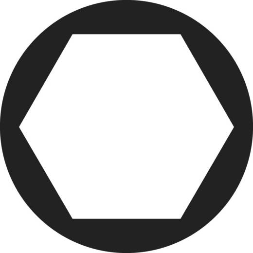 Toolcraft hatlapfejű anya, sárgaréz, M5, DIN 934, 100 db