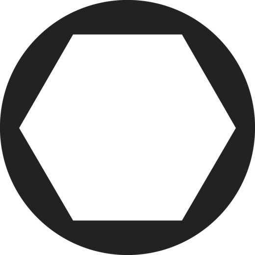 Toolcraft hatlapfejű anya, sárgaréz, M6, DIN 934, 100 db